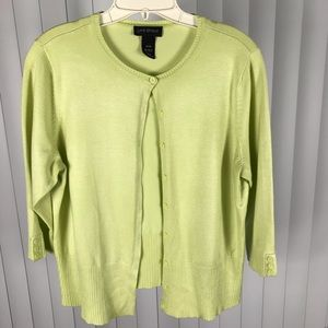 Lane Bryant Cardigan With 3/4 length sleeves
